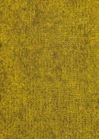 黄色の毛羽立った布のA4サイズ背景素材