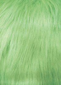 緑色のファーのA4サイズ背景素材