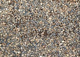 砂利が敷詰まったA4サイズ背景素材