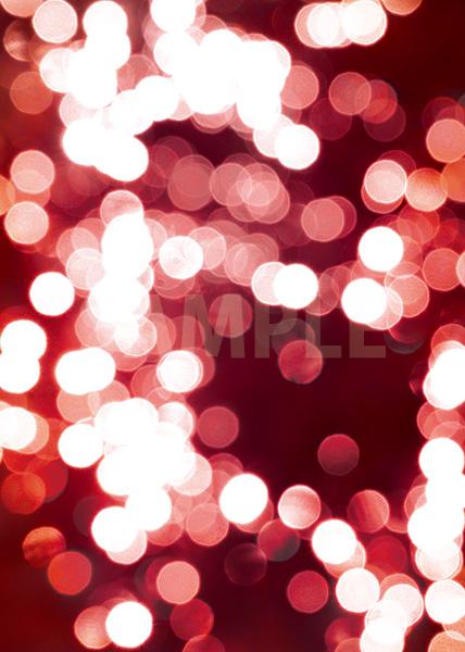 赤くぼやけた光のA4サイズ背景素材