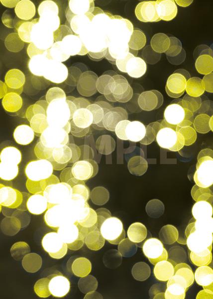 黄色くぼやけた光のA4サイズ背景素材