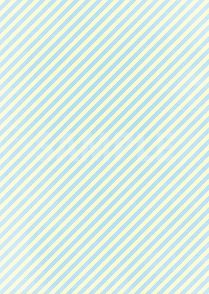 水色と薄い黄色の斜めストライプ柄のA4サイズ背景素材