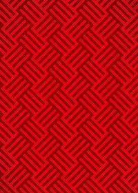 赤色のバスケットチェック柄のA4サイズ背景素材
