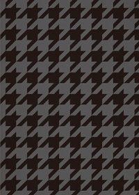 黒色のハーリキンチェック柄のA4サイズ背景素材