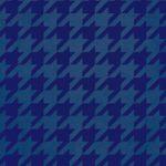 紺色のハウンドトゥース柄のA4サイズ背景素材