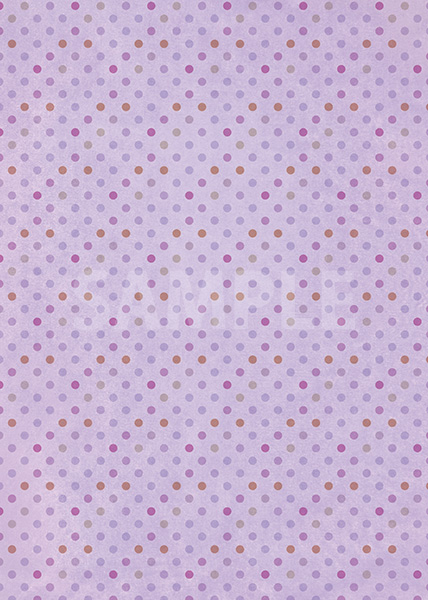 紫ベースのドット柄A4サイズ背景素材