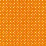 オレンジベースのドット柄A4サイズ背景素材