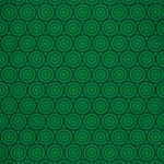 緑色のサークル柄A4サイズ背景素材