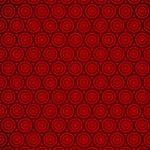 赤いサークル柄A4サイズ背景素材
