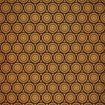 茶色のサークル柄A4サイズ背景素材