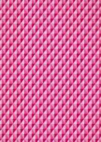 ピンクの三角が並び立体的に見えるA4サイズ背景素材