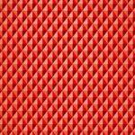 赤色の三角が並び立体的に見えるA4サイズ背景素材