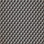 黒色の三角が並び立体的に見えるA4サイズ背景素材