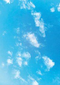 青空のA4サイズ背景素材データ