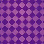 紫色のハーリキンチェック柄のA4サイズ背景素材