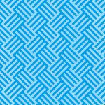 青色のバスケットチェック柄のA4サイズ背景素材