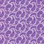 紫色のペイズリー柄A4サイズ背景素材