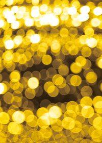 黄色くボヤケて光るA4サイズ背景素材データ