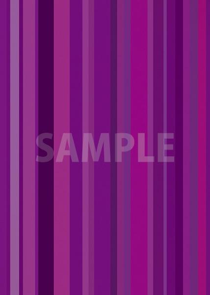 紫系のマルチストライプ柄A4サイズ背景素材データ