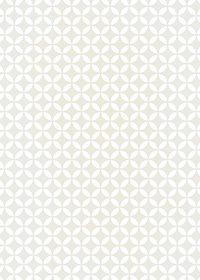 白とグレーの七宝柄A4サイズ背景素材データ