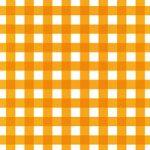 オレンジ色のギンガムチェック柄A4サイズ背景素材