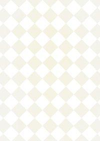 白色と薄いベージュのハーリキンチェック柄A4サイズ背景素材