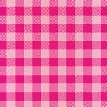 ピンク色のシェパードチェック柄A4サイズ背景素材