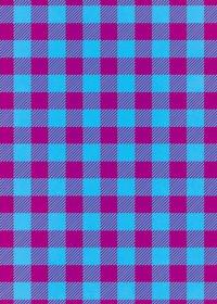 青と紫色のシェパードチェック柄A4サイズ背景素材