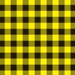 黄色と黒のシェパードチェック柄A4サイズ背景素材
