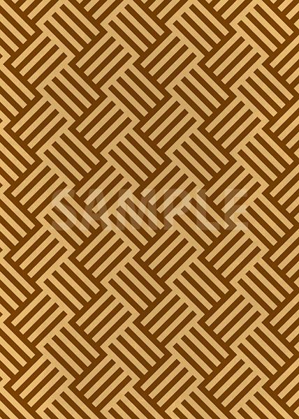 茶色のバスケット柄A4サイズ背景素材
