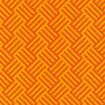 オレンジ色のバスケット柄A4サイズ背景素材