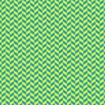 青と黄色のヘリンボーン柄A4サイズ背景素材