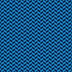 黒と青色のヘリンボーン柄A4サイズ背景素材