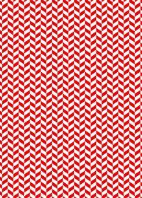 赤と白のヘリンボーン柄A4サイズ背景素材
