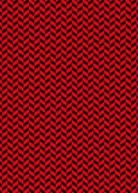 黒と赤色のヘリンボーン柄A4サイズ背景素材
