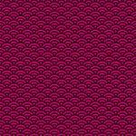 黒とピンク色の青海波柄A4サイズ背景素材