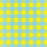 水色と黄色のシェパードチェック柄A4サイズ背景素材