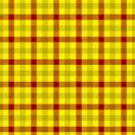 赤・黄色のガンクラブチェック柄A4サイズ背景素材