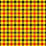 黒・赤・黄色のガンクラブチェック柄A4サイズ背景素材