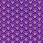 紫色の青海波柄A4サイズ背景素材
