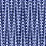 紺とグレーの青海波柄A4サイズ背景素材