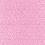 斜めに傾いたピンク色の青海波柄A4サイズ背景素材