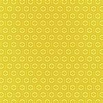 黄色の亀甲柄A4サイズ背景素材