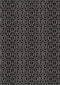 黒色の組亀甲柄A4サイズ背景素材