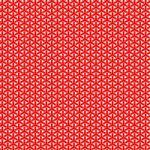紅白の組亀甲柄A4サイズ背景素材