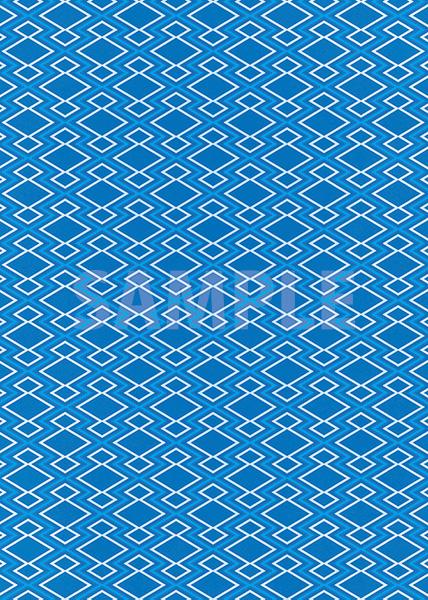 青い松皮菱柄A4サイズ背景素材