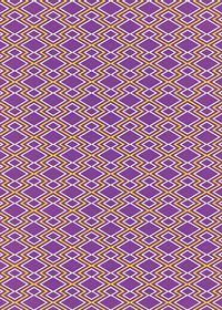 紫と黄色の松皮菱柄A4サイズ背景素材