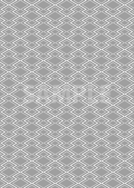 灰色の松皮菱柄A4サイズ背景素材