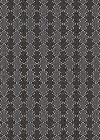 黒い松皮菱柄A4サイズ背景素材
