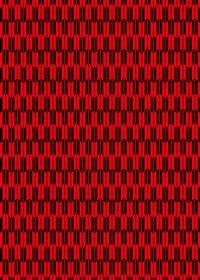 赤と黒の矢絣・和柄のA4サイズ背景素材
